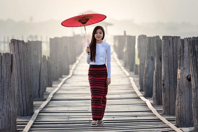 Umbrella, Fashion, Vietnamese, Tradition, Outdoor