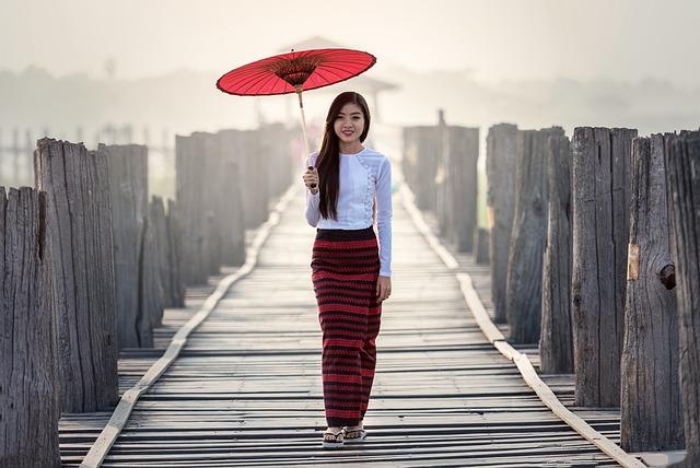 Umbrella, Fashion, Vietnamese, Tradition, Outdoor