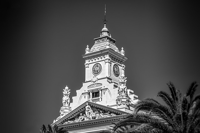 Church, Tower, Monochrome, Architecture, Outdoors