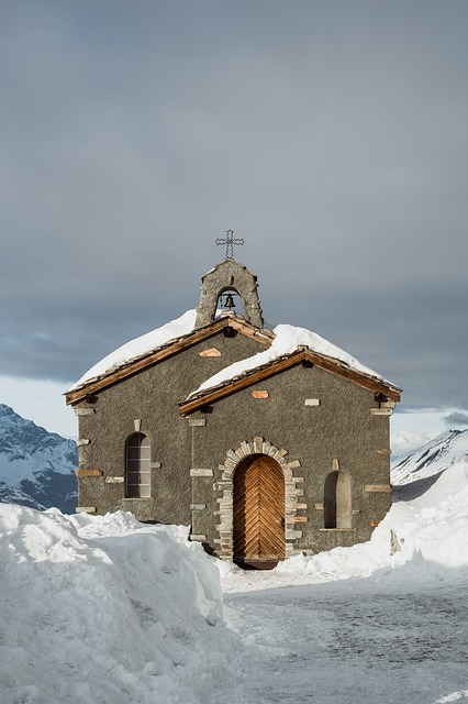 Architecture, Building, Church, Cold, Outdoors, Snow