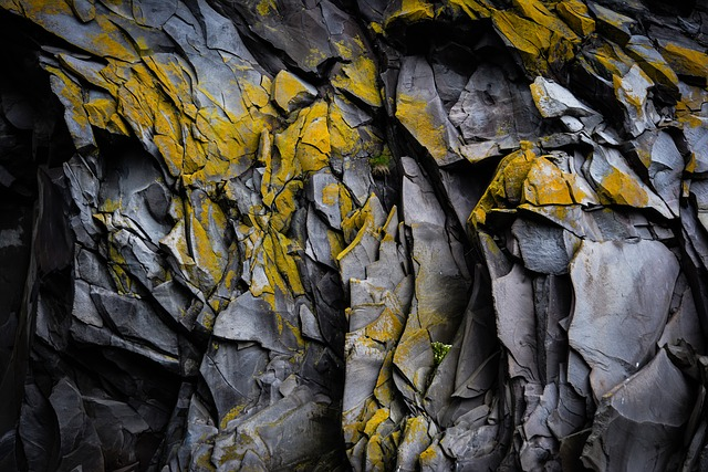 Rock Wall, Crevices, Geology, Outdoors, Pattern, Shapes