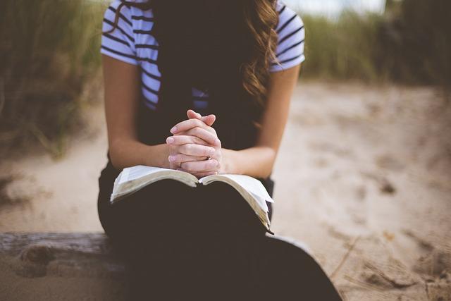 Beach, Girl, Leisure, Outdoors, Person, Praying
