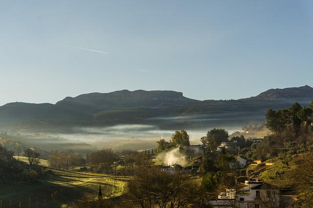 Panoramic, Nature, Mountain, Outdoors, Landscape, Spain