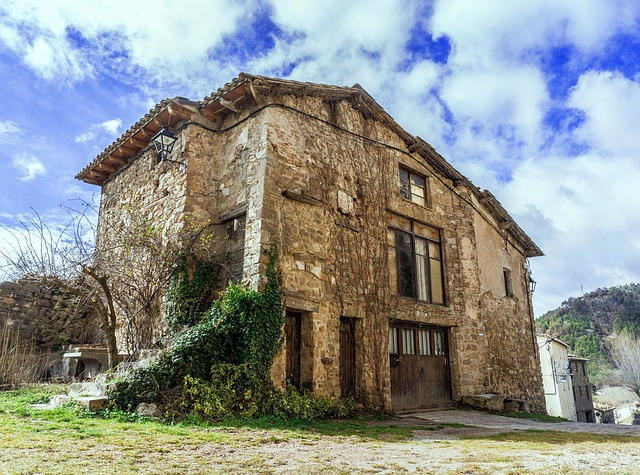 Architecture, Old, House, Building, Outdoors, Sky, Wall