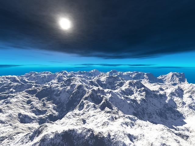 Nature, Sky, Outdoors, Panoramic, Mountain, Blue Sky