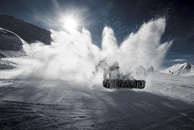 Cold, Mountain, Outdoors, Snow, Snowboarding, Sun