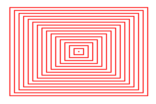 Frame, Outline, Black, White, Arrangement, Center