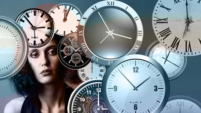 Time, Clock, Head, Woman, Face, View, Outlook, Watches