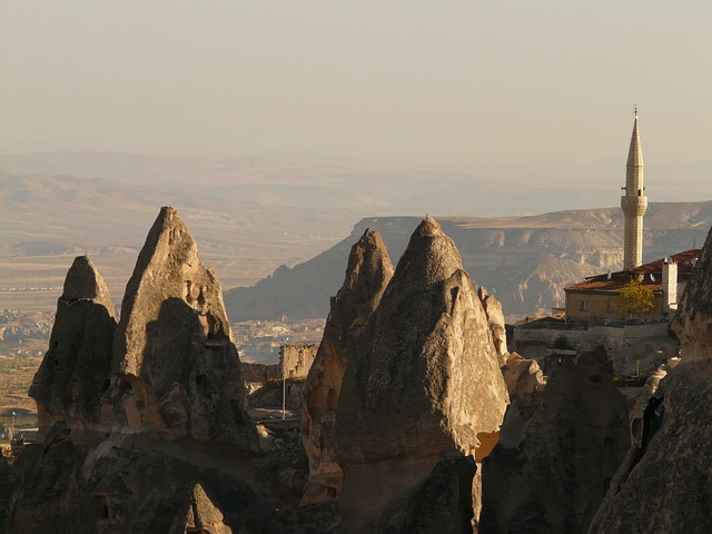 Minaret, Fairy Chimneys, Uchisar, Outlook, Vision