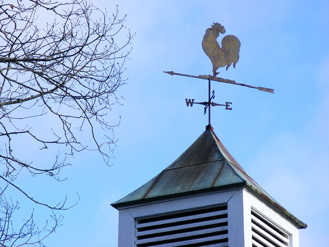 Marrowbone, Kentucky, Farm, Rural, Outside, Wind Vane