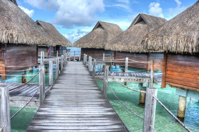 Bora Bora, Over Water Bungalows, Tropical, Vacation