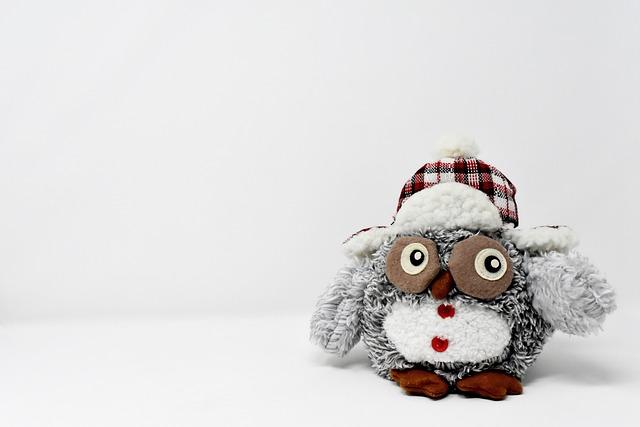 Owl, Figure, Stuffed Animal, Decoration, Funny, Bird