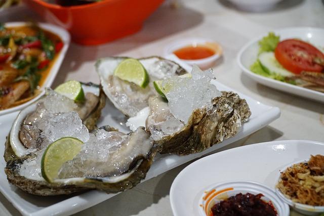 Oyster, Seafood, Thaifood