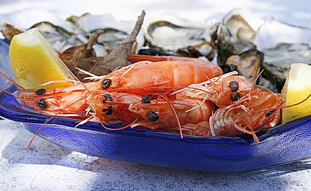 Shrimp, Oyster, Seafood, Oysters, Crustaceans