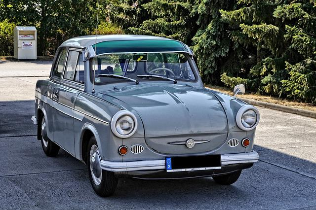 Oldtimer, Satellite, P500, Ddr, Ifa, Auto, Vehicle, Old