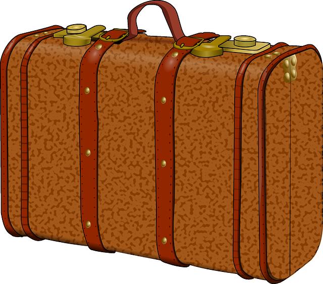 Suitcase, Old, Travel, Traveler, Pack, Baggage