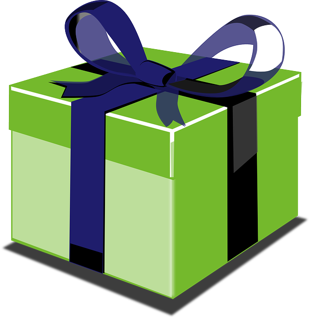 Gift, Package, Parcel, Box, Gift-wrapped, Ribbon