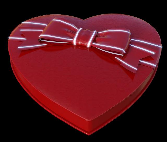 Heart, Chocolates, Gift, Packaging, Box Of Chocolates