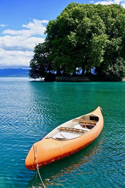 Canoe, Paddle, Water Craft, Adventure, Summer, Water