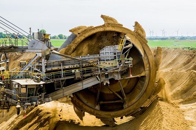 Paddle Wheel, Bucket Wheel Excavators, Brown Coal