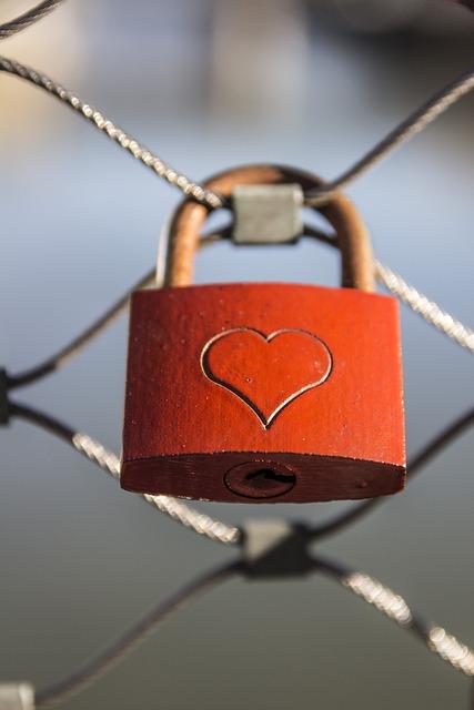 Heart, Castle, Love, Padlock, Fence, Love Castle
