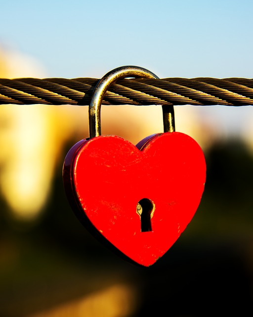 Heart, Castle, Bridge, Love, Padlock, Connection