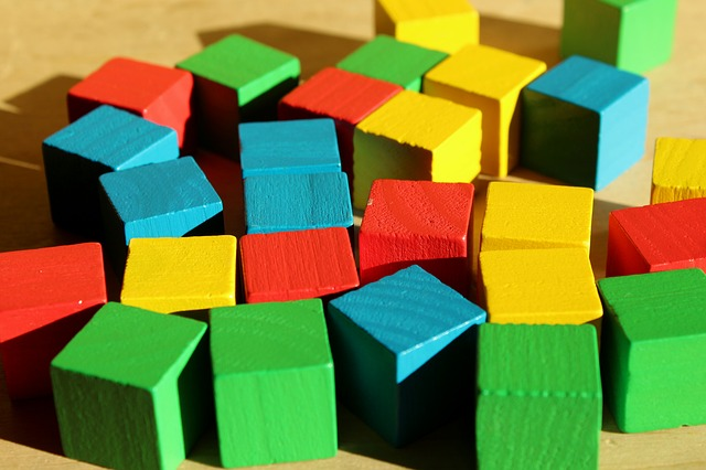 Pads, Toys, Wooden, Colorful, Toy, Childhood, Unit
