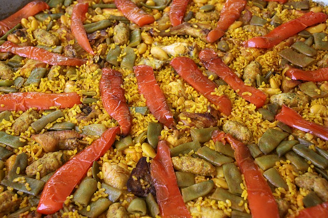 Paella, Kitchen, Rice, Traditional Dish, Vegetables