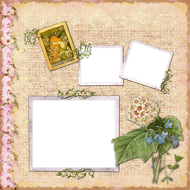 Scrapbook, Scrap, Background, Page, Craft, Blank, Frame