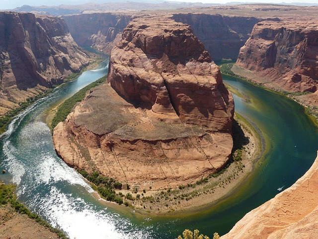 Horseshoe Bend, Page, Arizona, Colorado River, Usa