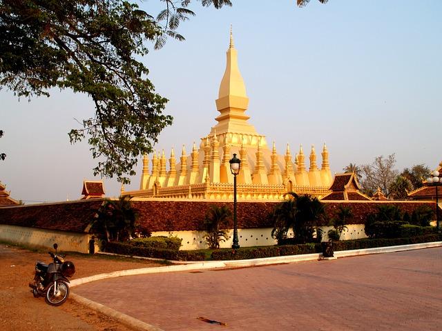 Golden Pagoda, Pagoda, Wat Pha-that Luang, Vientiane