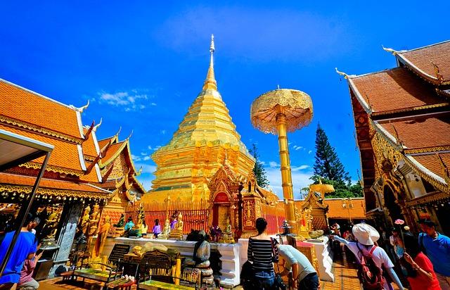 Measure, Pagoda, Buddhism, Thailand, Sakon Nakhon, Art
