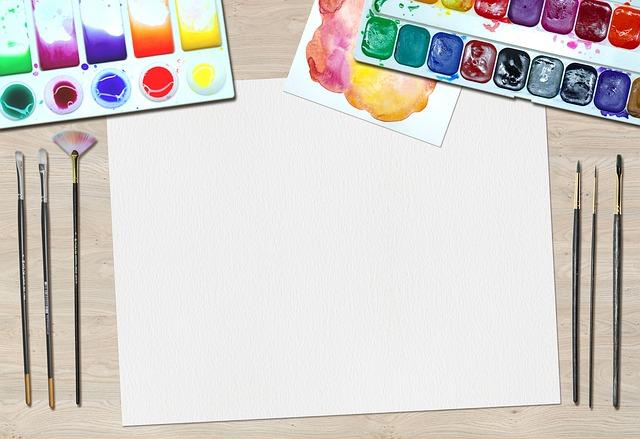 Art, Paint, Water Colors, Desk, Artist, Equipment