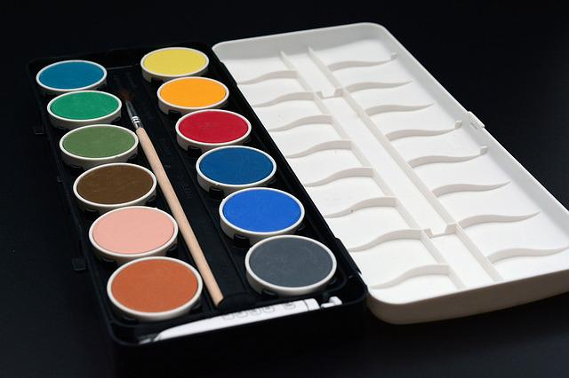 Paint Boxes, Malkasten, Paint, Color, Colorful