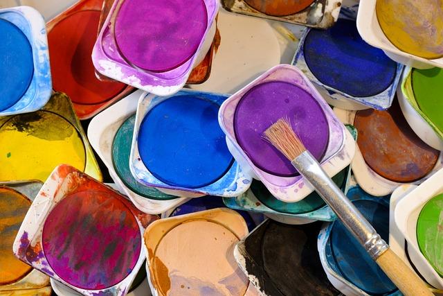 Color, Watercolor, Brush, Bristles, Watercolour, Paint