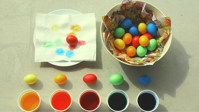 Color, Easter, Painted Eggs, Colorful, Easter Eggs