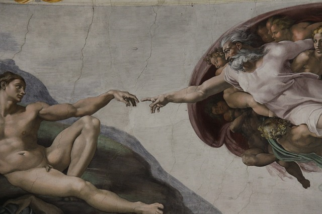 The Creation Of Adam, Fresh In, Sistine Chapel, Painted