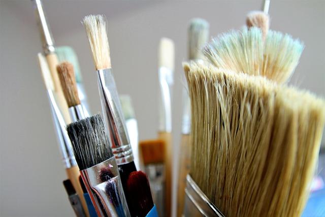 Brush, Painter Brush, Paint, Artists, Brush Hair