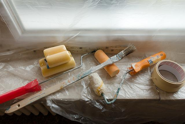 Renovate, Painter Working, Painting, Delete, Work