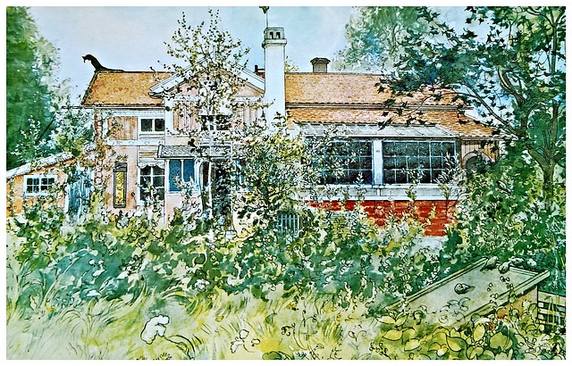 Art From Sweden, Artist Carl Larsson, Painting