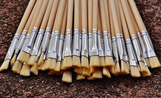 Brush, Paint, Art, Brush Strokes, Painting, Hair Brush
