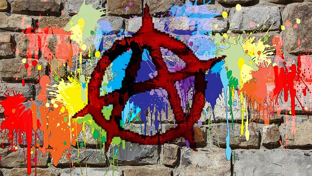 Wall, Graphics, Painting, Street Art Symbol