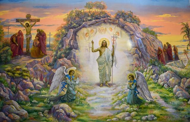 Resurrection Of Jesus Christ, Painting, Iconography