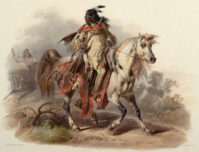 Painting, Art, Artwork, Karl Bodmer, 1843