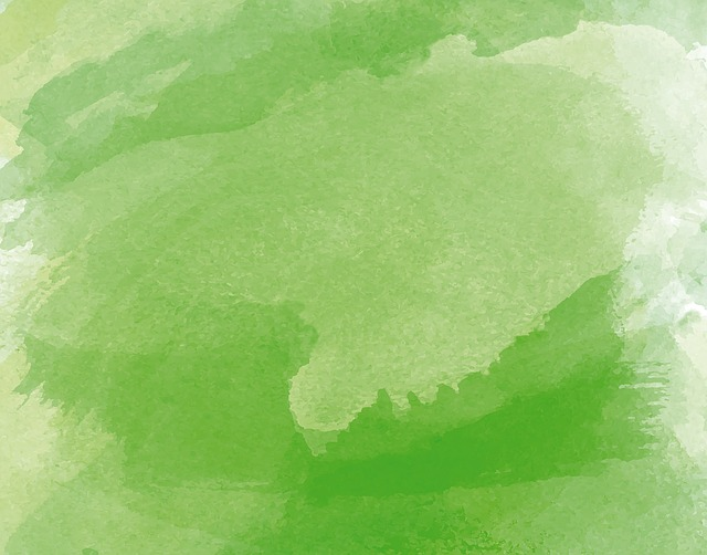 Watercolor, Watercolour, Green, Paint, Painting, Nature