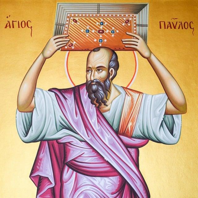 St Paul, Saint, Iconography, Painting, Byzantine Style