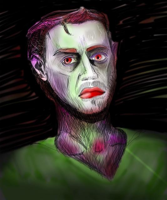 Self Portrait, Painting, The Framework, Man