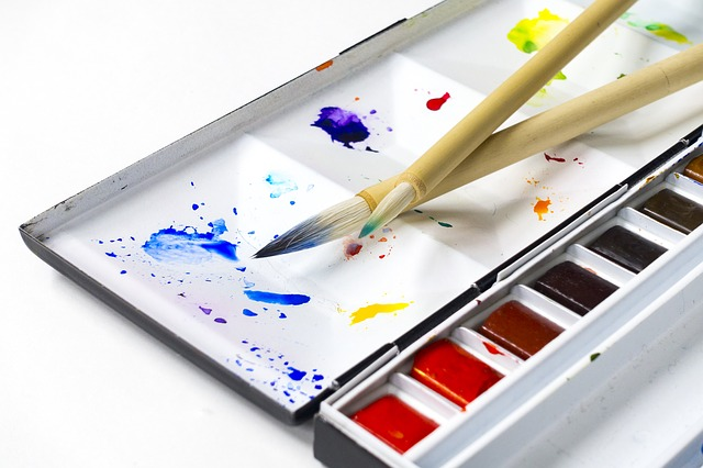 Watercolors, Paint, Painting Tools, Color