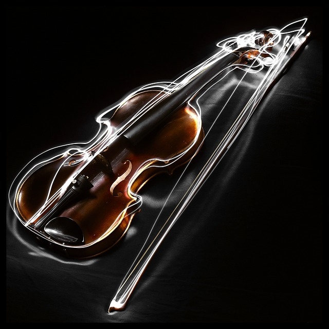 Bow, Music, Painting With Light, Musical Instrument