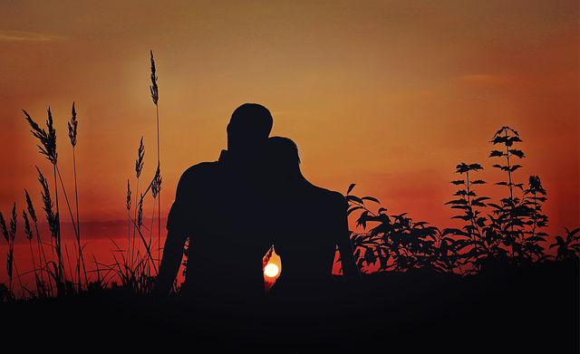 Lovers, Pair, Love, Sunset, Romance, Relationship